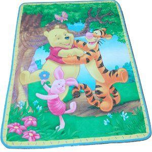 Winnie the Pooh Tiger & Piglet Blanket Coverlet